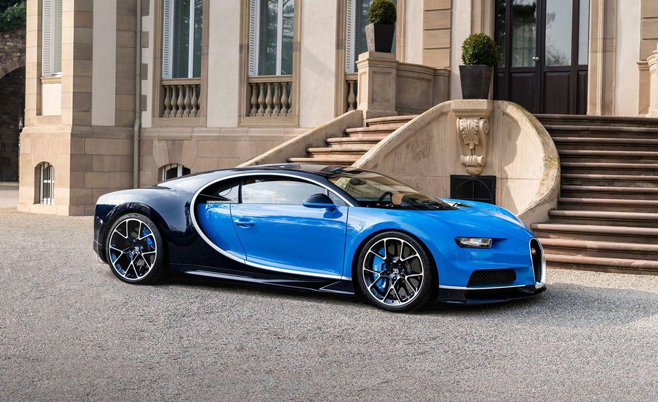 2017 Bugatti Chiron: Again with the Overkill
