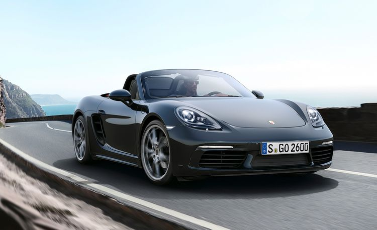2017 Porsche 718 Boxster: Going Turbocharged