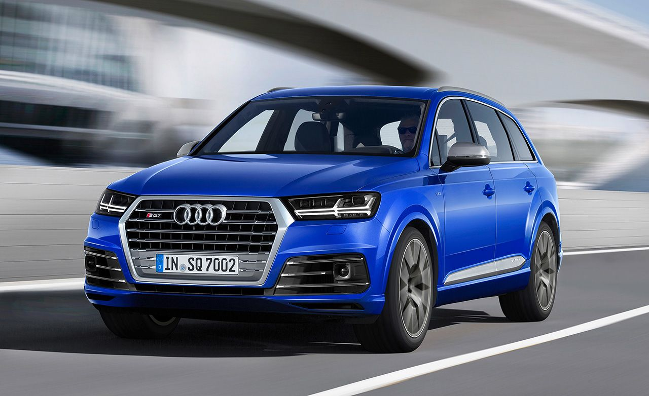 Audi SQ TDI Cars Worth Waiting For Feature Car And Driver - Audi sq7 price