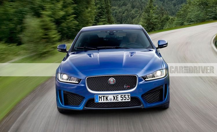 2018 Jaguar XE SVR: 5.0 Liters of Supercharged Fury?