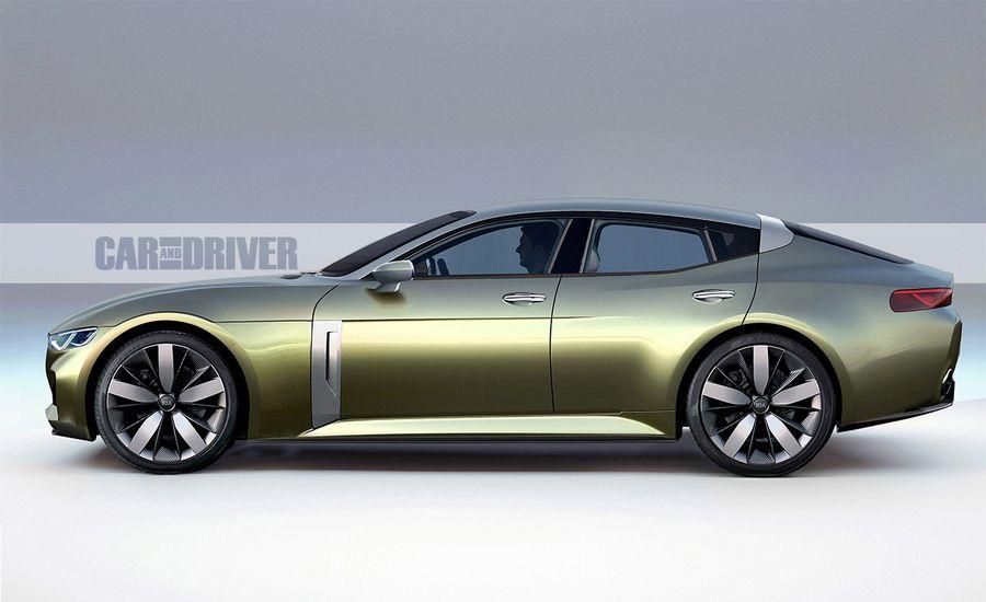 2018 Kia Gt A Serious Rwd Sports Sedan From