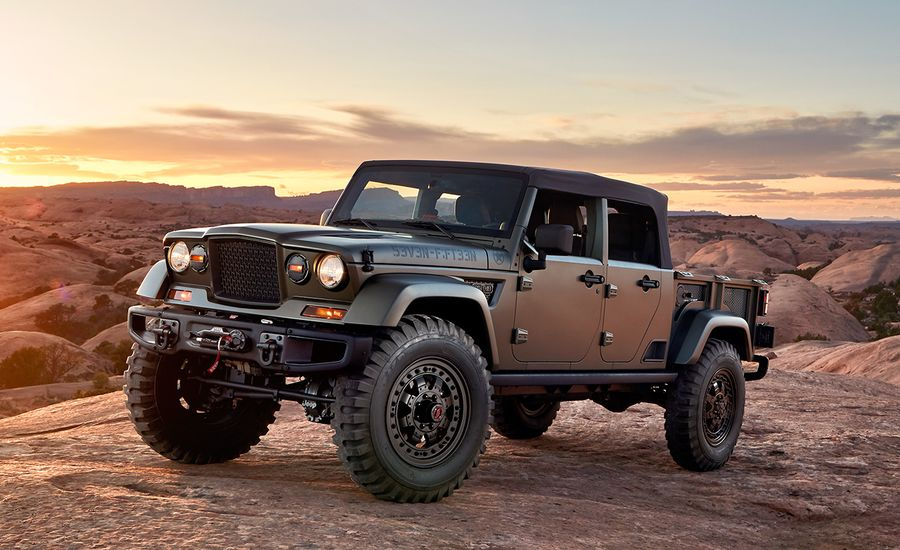 Jeep Crew Chief 715 Concept Dissected – Feature – Car and ...
