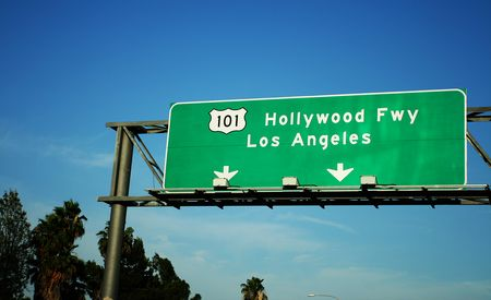The Hollywood Freeway Is L.A.'s Own Glittering Gutter