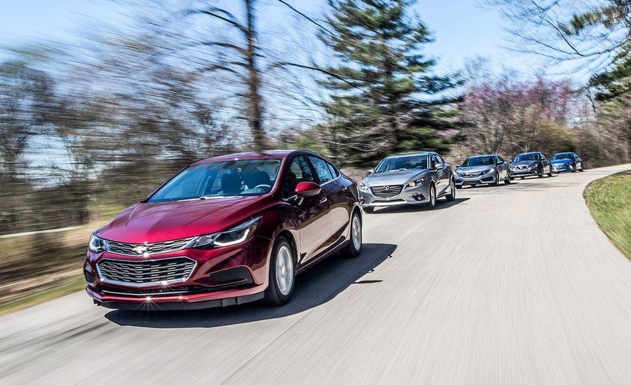 2016 Honda Civic 2017 Hyundai Elantra Mazda 3