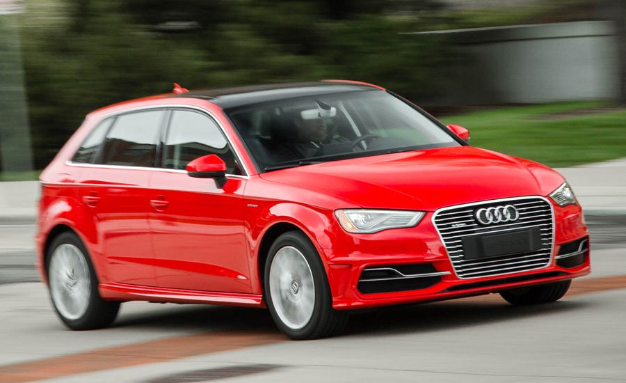 Audi A Etron PlugIn Hybrid Review Car And Driver - Audi a3 sportback