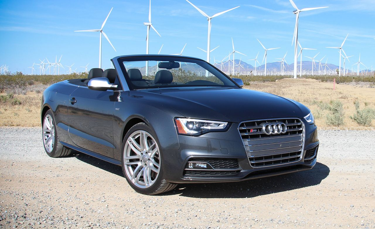 2016 Audi S5 Cabriolet Test Review Car And Driver