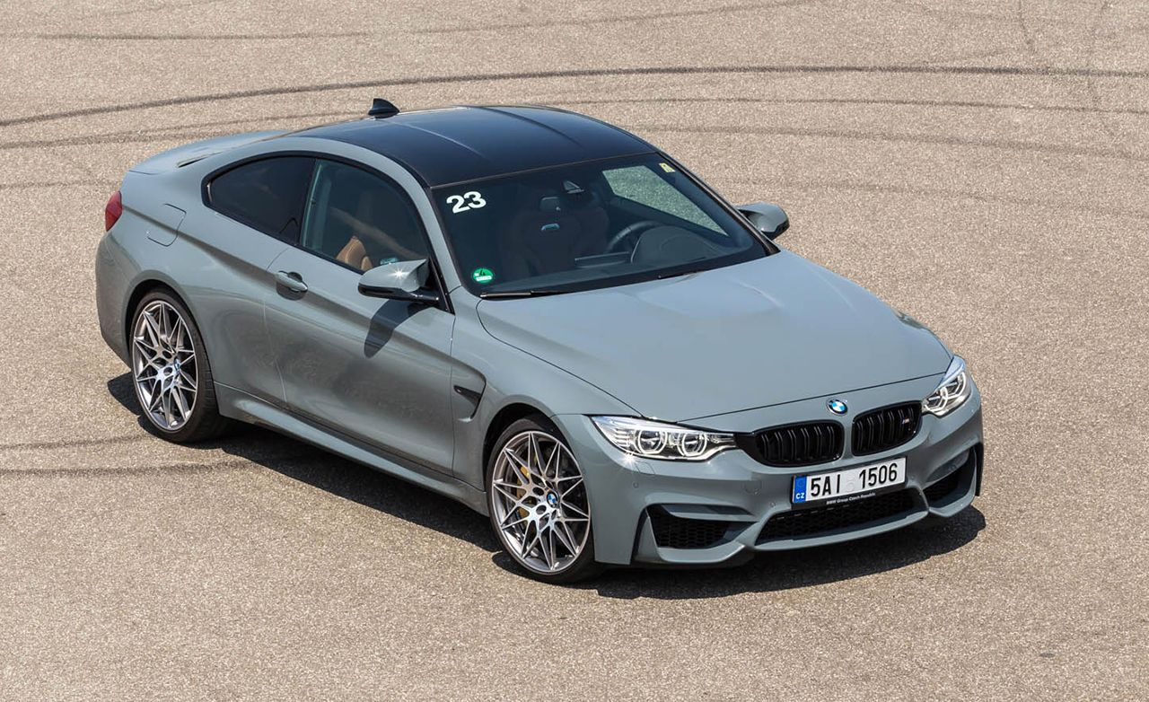 2016 Bmw M4 Competition Pack First Drive Review Car