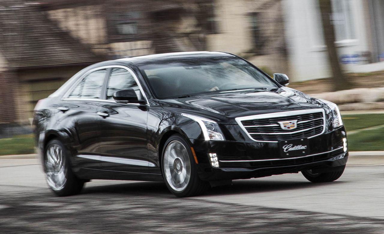 2016 Cadillac Ats Sedan 2 0t Awd Test Review Car And Driver