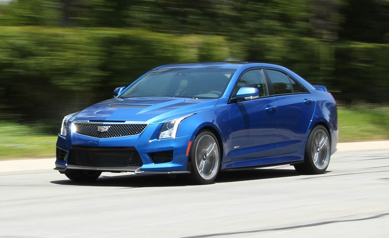 2016 Cadillac Ats V Sedan Test Review Car And Driver