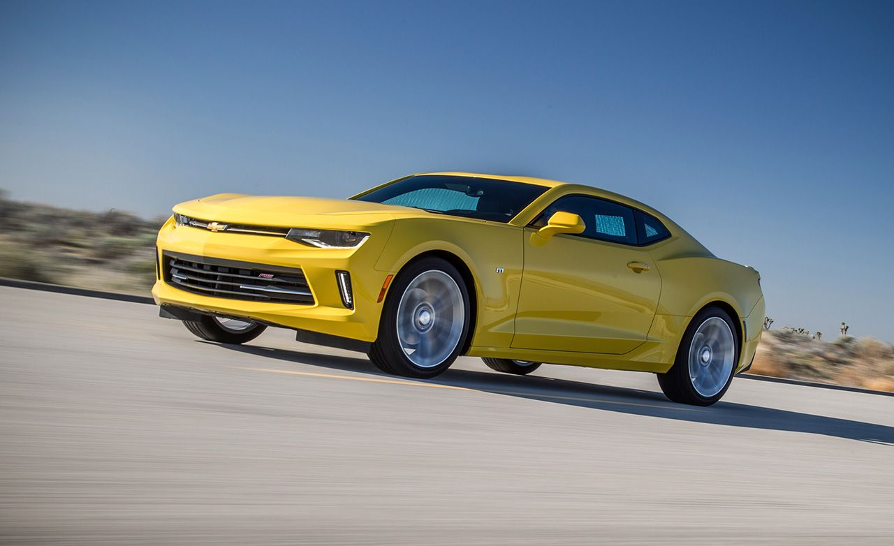 2016 Chevrolet Camaro 2.0T Manual Test – Review – Car and Driver