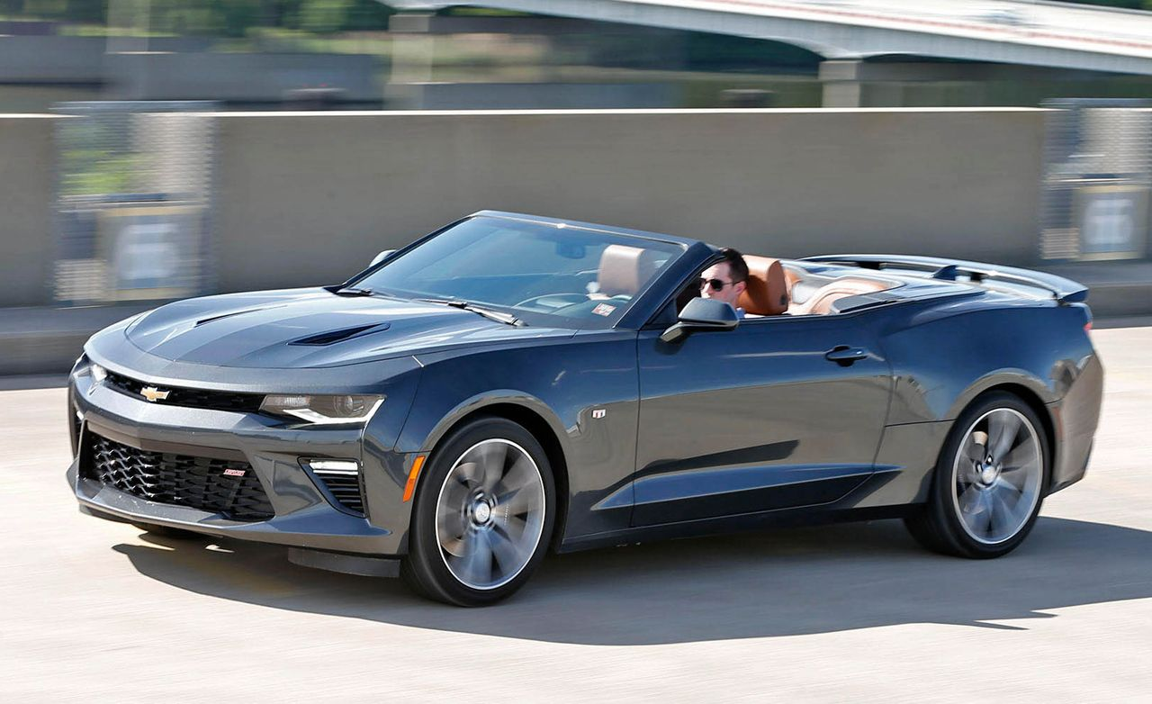 2016 Chevrolet Camaro Ss Convertible Test Review Car