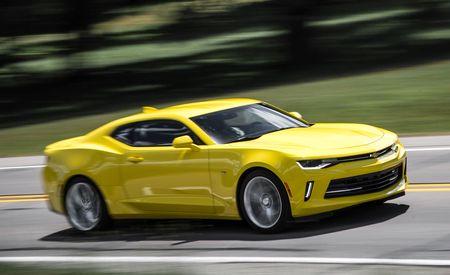 2016 Chevrolet Camaro V-6 Automatic