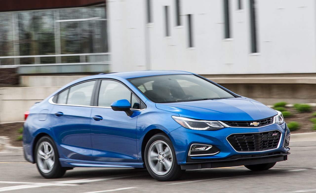 2016 Chevrolet Cruze Manual First Drive Review