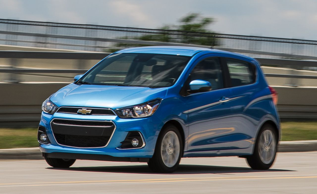 2016 Chevrolet Spark Test Review Car And Driver