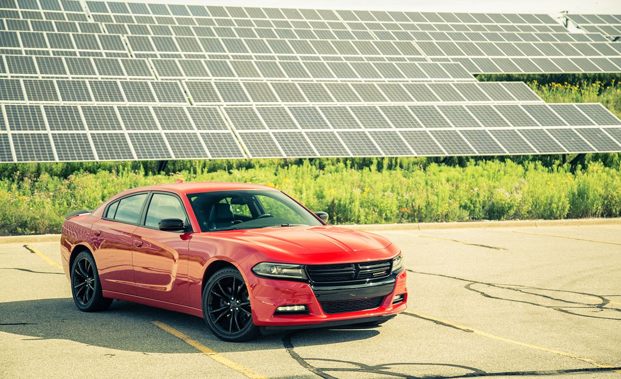2016 Dodge Charger V 6 8 Speed Automatic Review Car And Driver