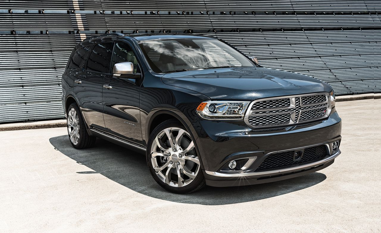 Rims For Cheap >> 2016 Dodge Durango Driven | Reviews | Car and Driver