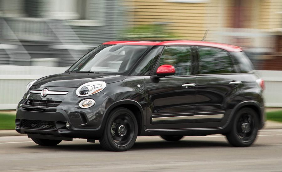 2016 fiat 500l 1 4t automatic test review car and driver. Black Bedroom Furniture Sets. Home Design Ideas