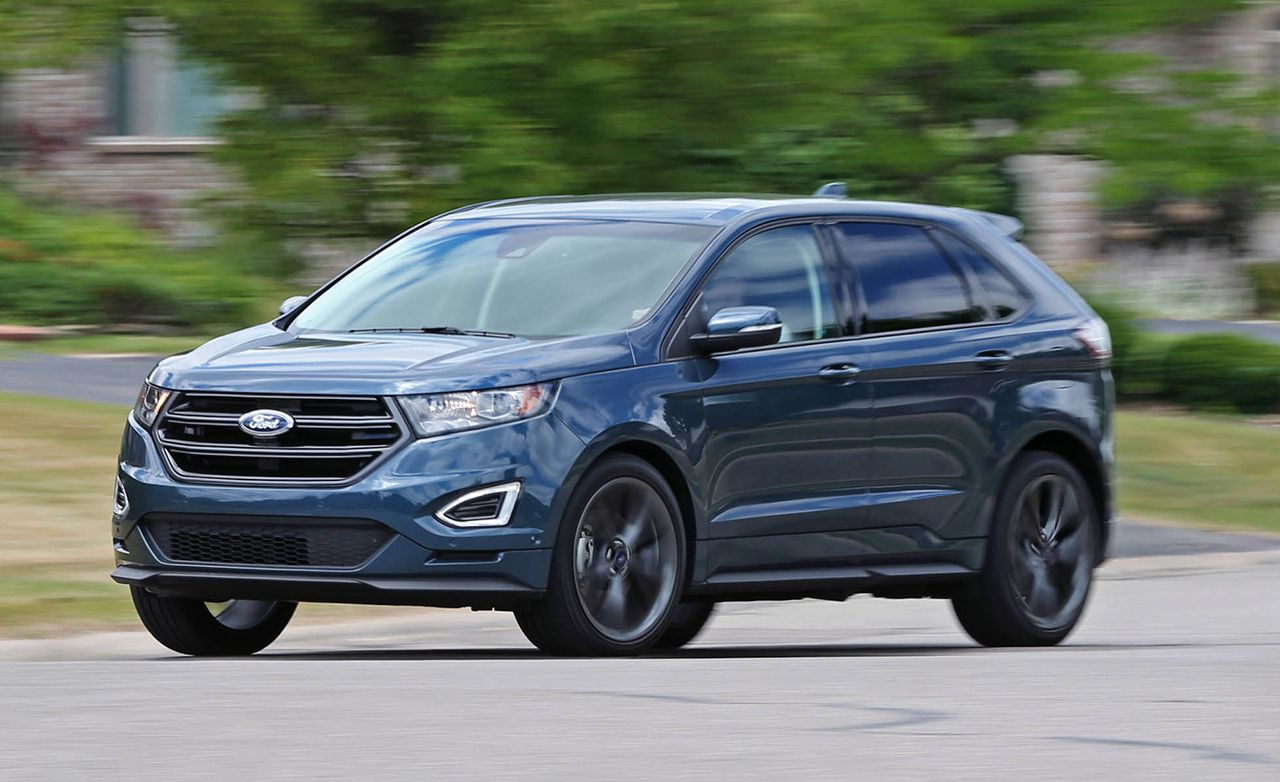 2016 Ford Edge Review Car And Driver