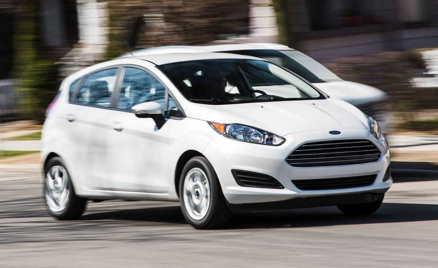 2016 Ford Fiesta Hatchback Automatic