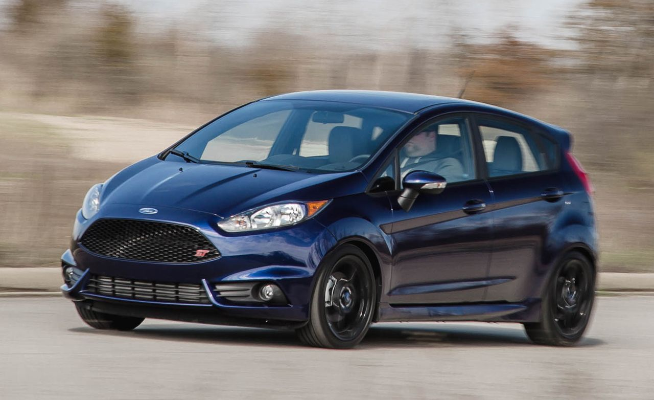 2016 ford fiesta st quick take review car and driver