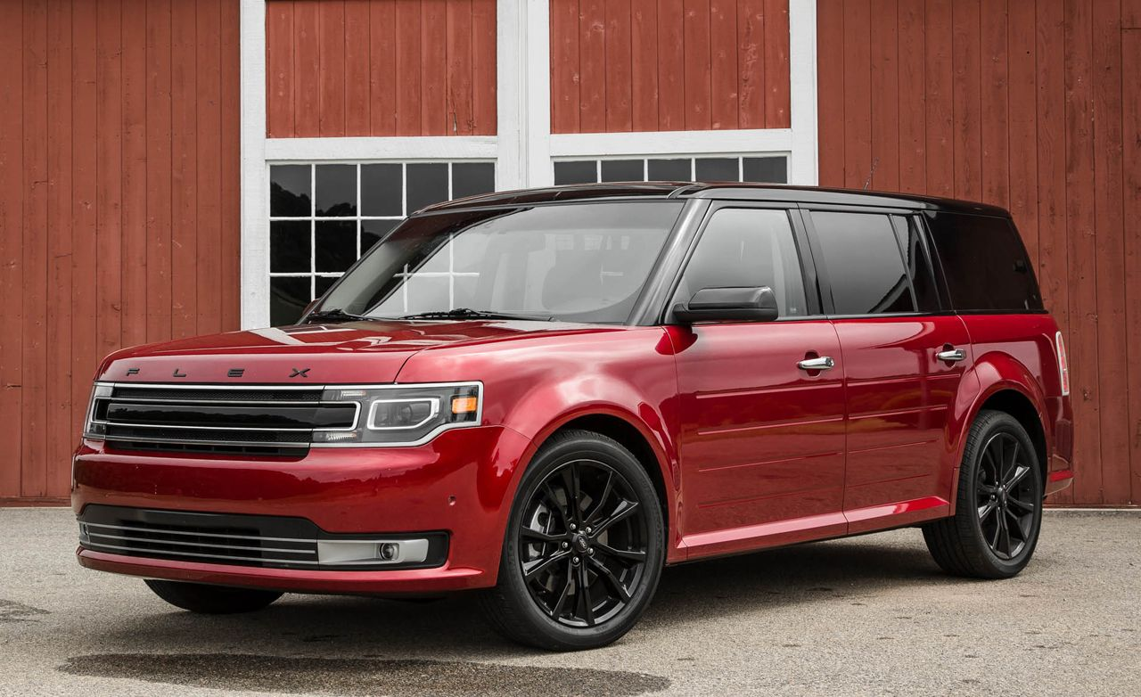 2016 Ford Flex 3 5l Ecoboost Awd Test Review Car And