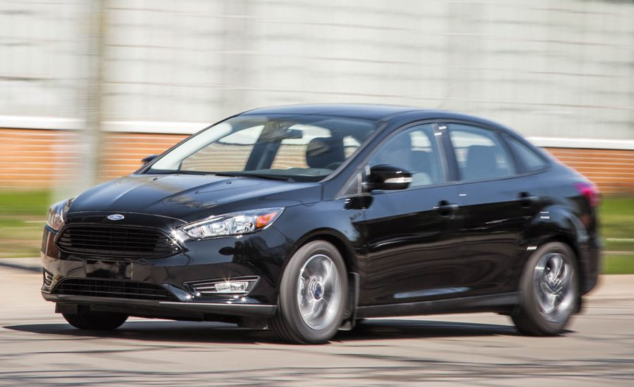 2016 Ford Focus Sedan 1.0-Liter EcoBoost Automatic