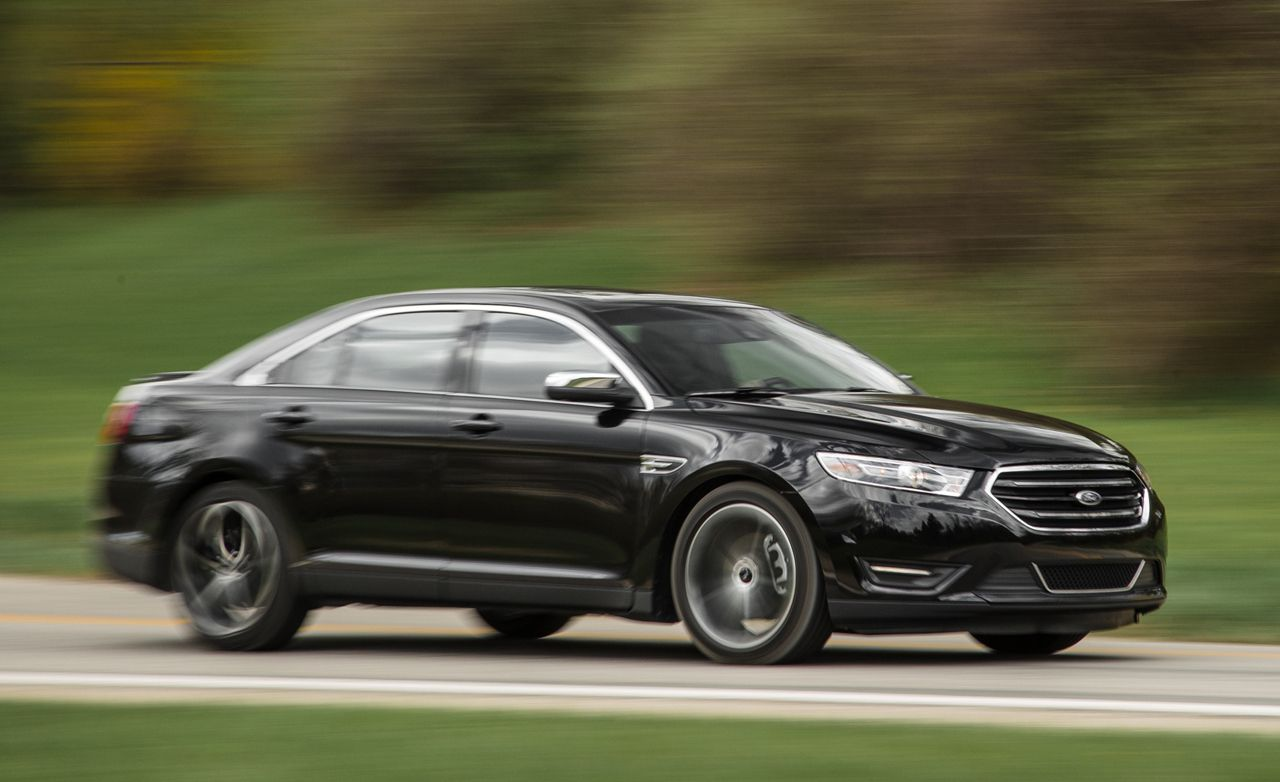 2016 ford taurus 2 0l turbo tested review car and driver