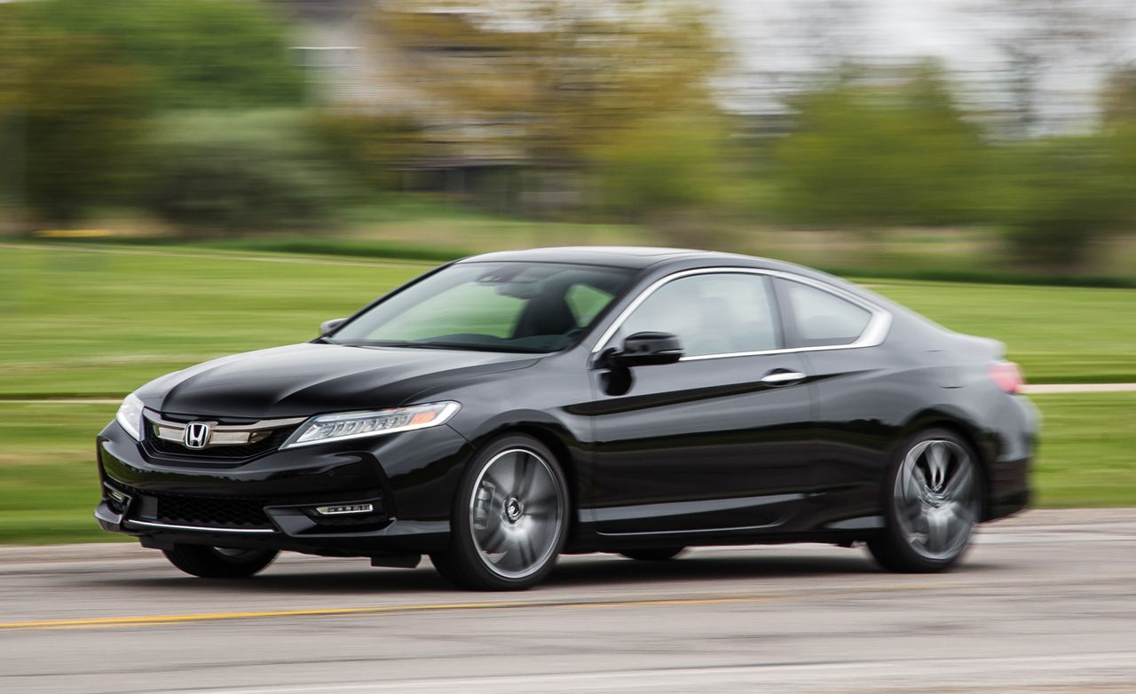 2016 Honda Accord Coupe V 6 Automatic Test 8211 Review Car And Driver