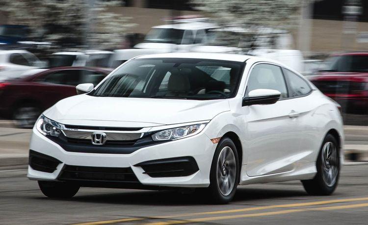 2016 Honda Civic Coupe 2.0L Manual