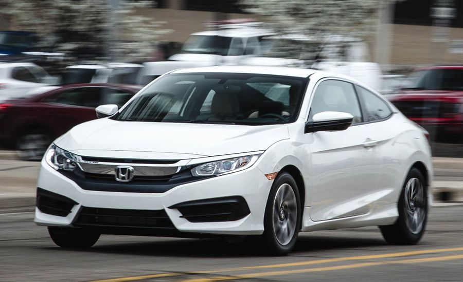 2016 Honda Civic Coupe 2.0L Manual