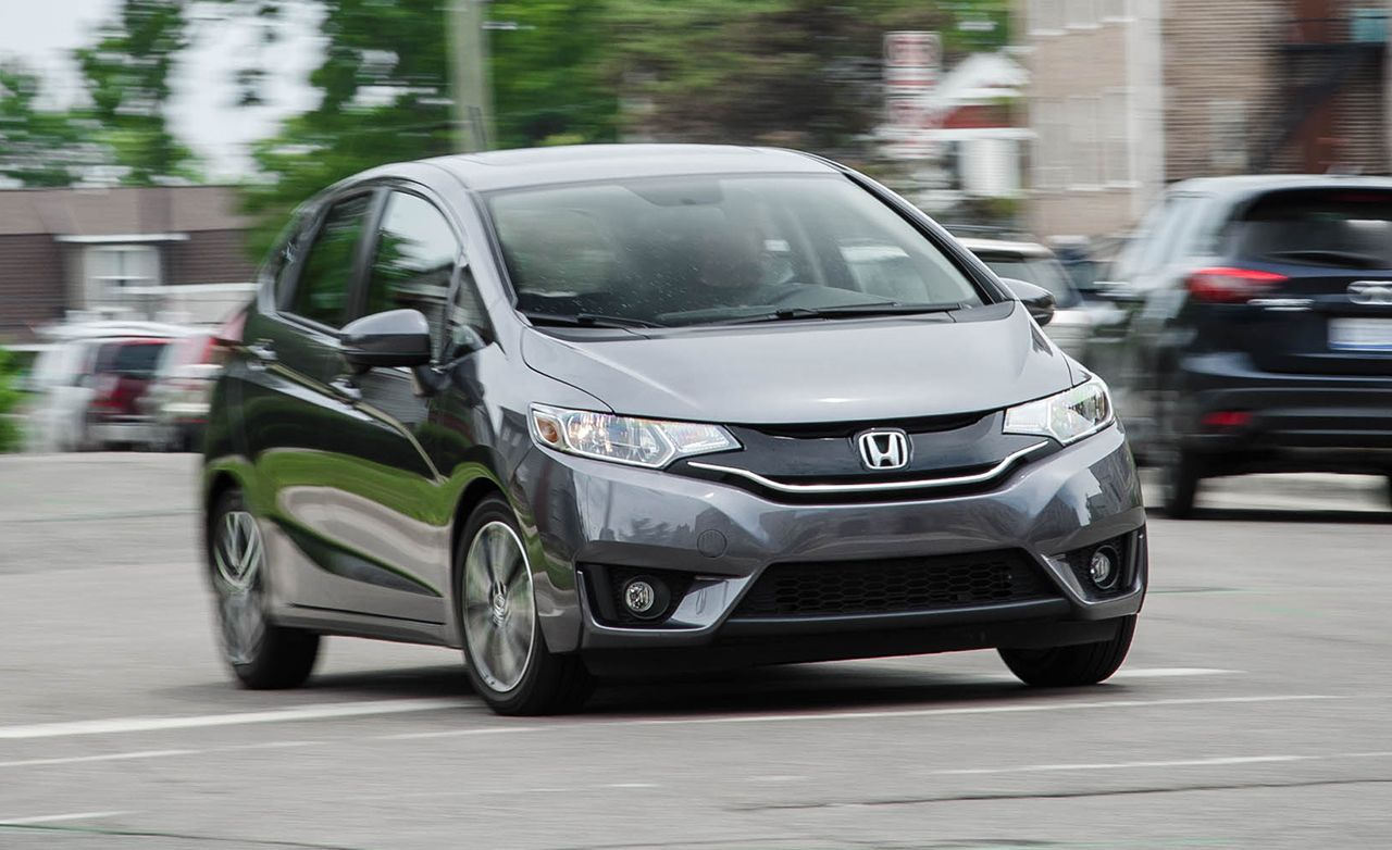 2019 Honda Fit Reviews Price Photos And Specs Car Driver