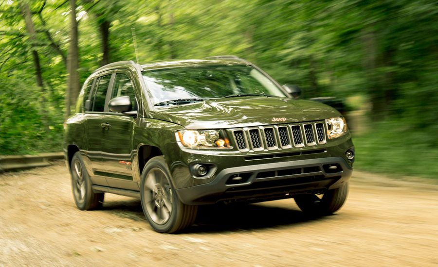2016 jeep compass 4x4 automatic test review car and driver. Black Bedroom Furniture Sets. Home Design Ideas