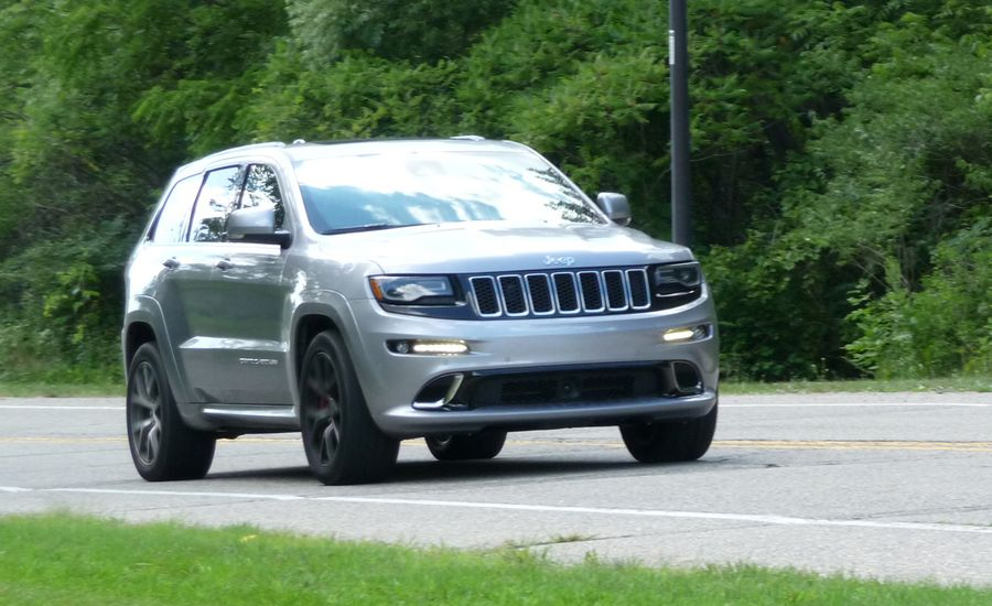 2016 jeep grand cherokee srt review car and driver. Black Bedroom Furniture Sets. Home Design Ideas