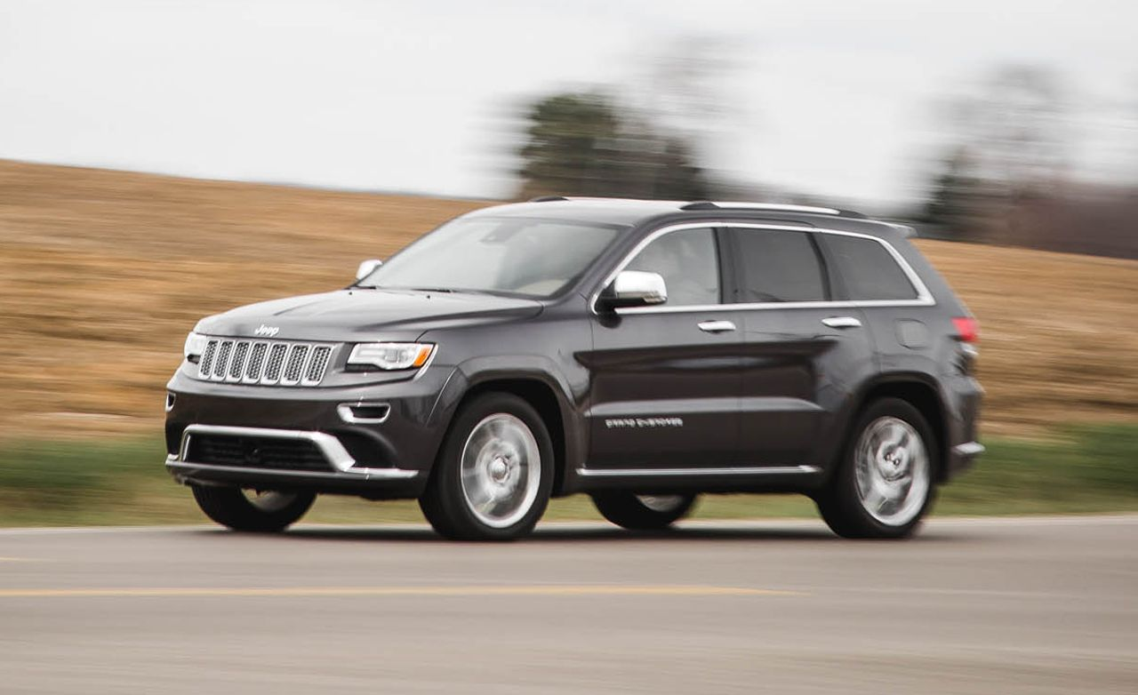 2016 Jeep Grand Cherokee V-6 Test | Review | Car and Driver