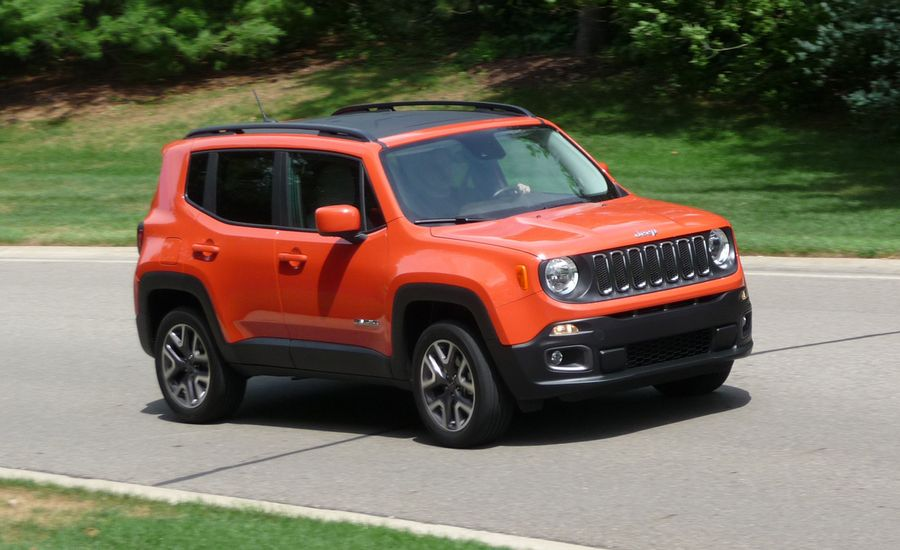 2016 Jeep Renegade Review Car And Driver