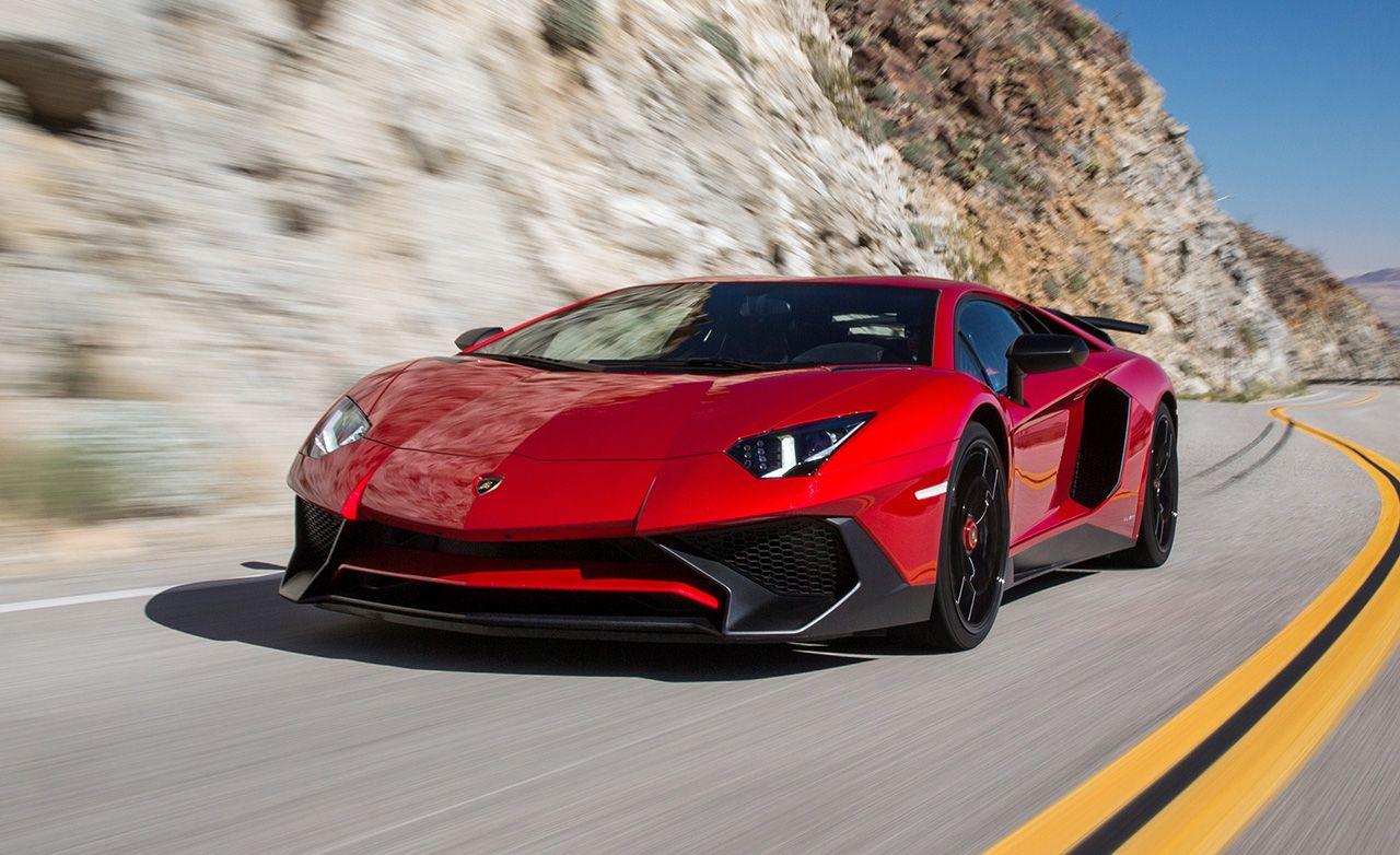 2016 Lamborghini Aventador LP750 4 Superveloce