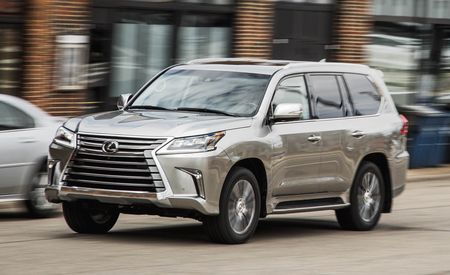 2016 Lexus LX570 8-speed Automatic