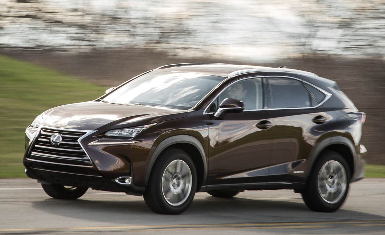 2016 lexus nx300h hybrid awd test review car and driver. Black Bedroom Furniture Sets. Home Design Ideas
