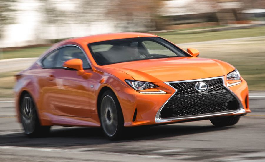 2016 lexus rc200t f sport test review car and driver. Black Bedroom Furniture Sets. Home Design Ideas
