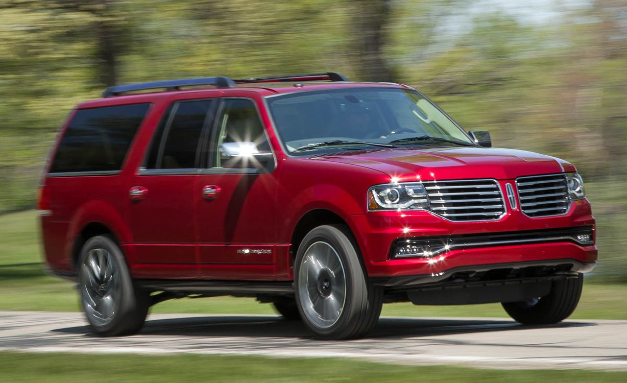 2016 Lincoln Navigator L 4x4 Test | Review | Car and Driver