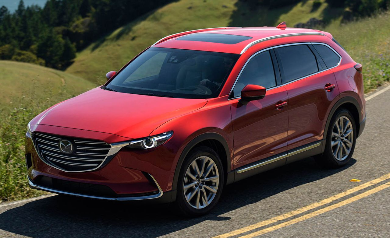 2016 Mazda Cx 9 First Drive Review Car And Driver