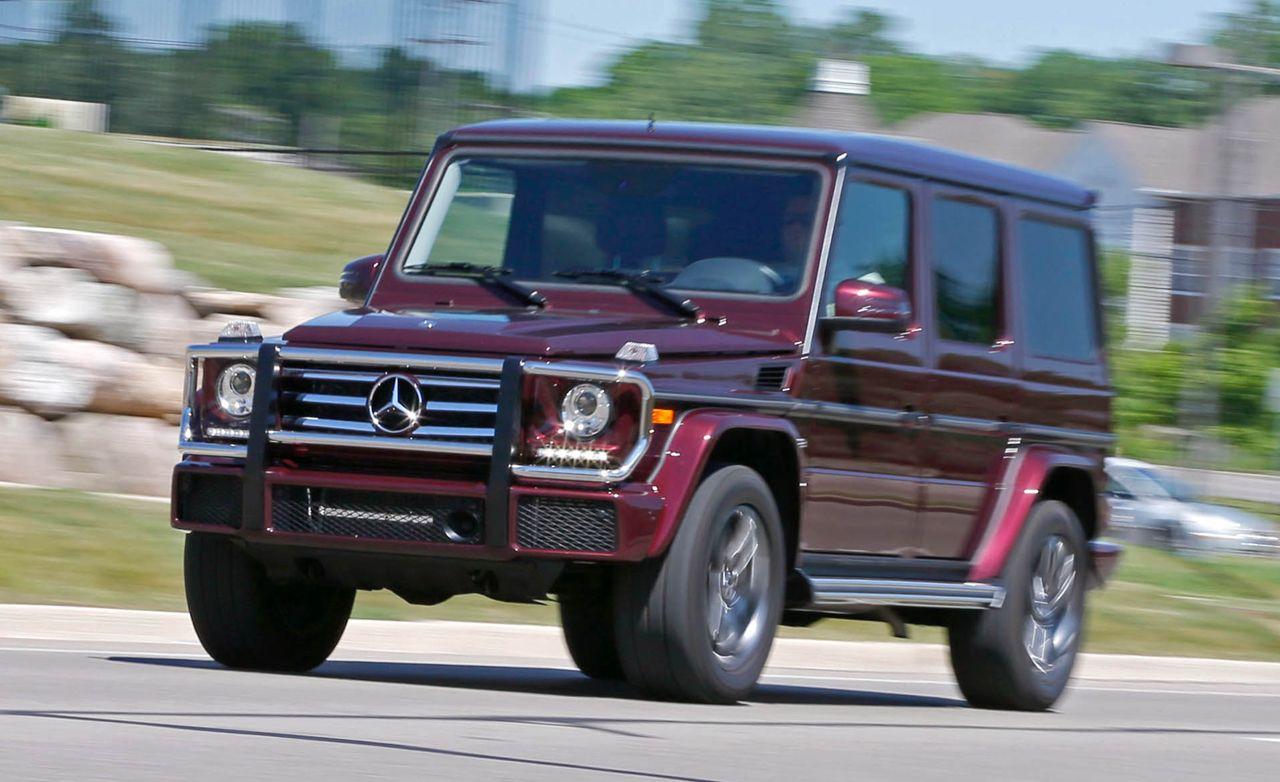 2016 mercedes benz g550 test review car and driver. Black Bedroom Furniture Sets. Home Design Ideas