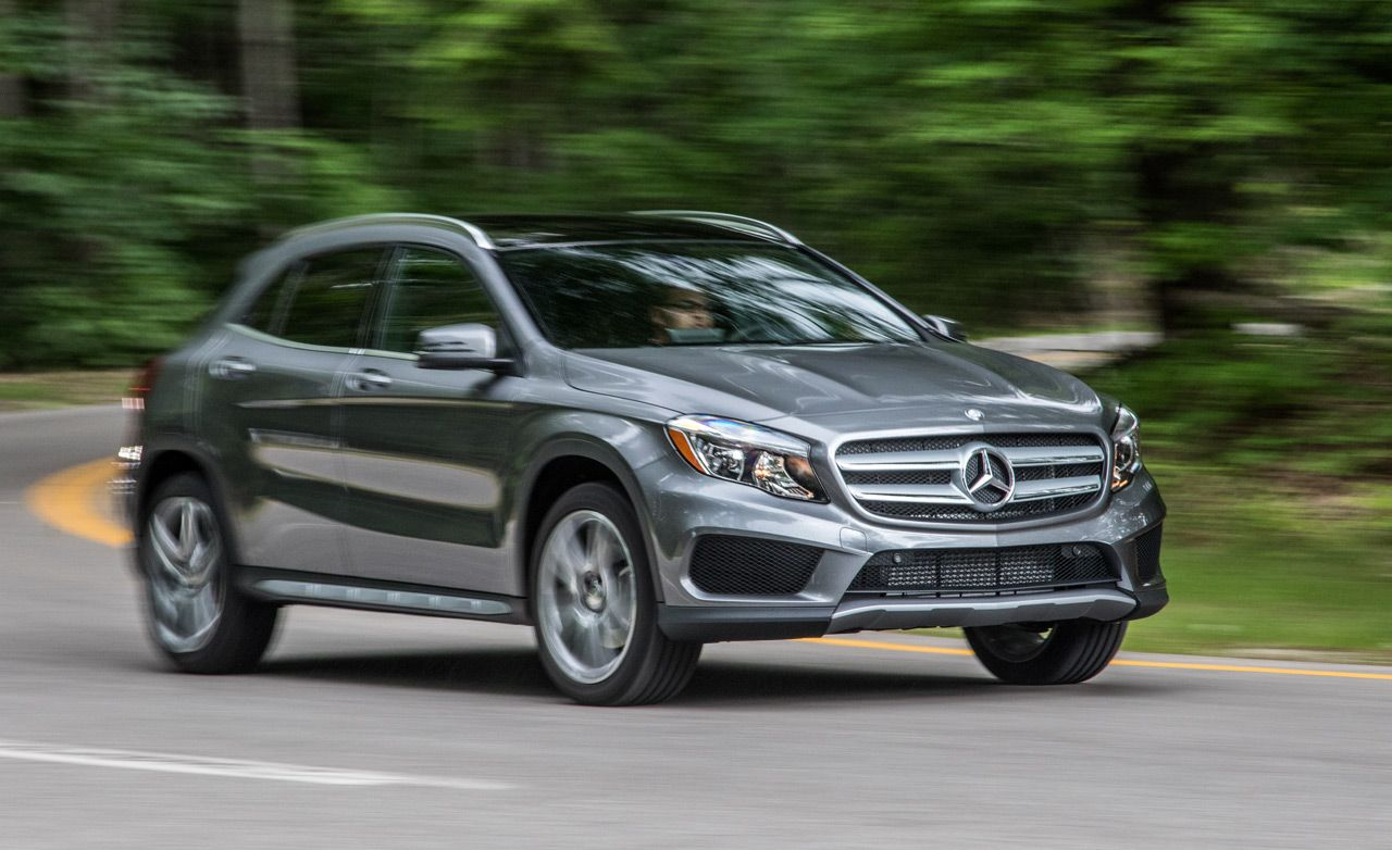 2016 mercedes benz gla250 4matic instrumented test for Mercedes benz gla 250 price