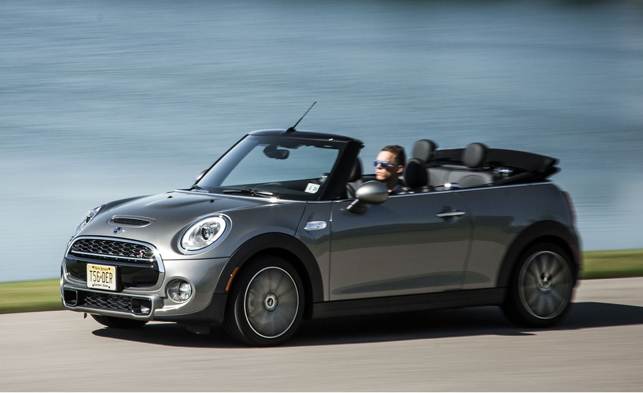 2016 mini cooper s convertible manual test review car and driver rh caranddriver com mini cooper cabrio user manual Mini Cabriolet Prix AU Maroc