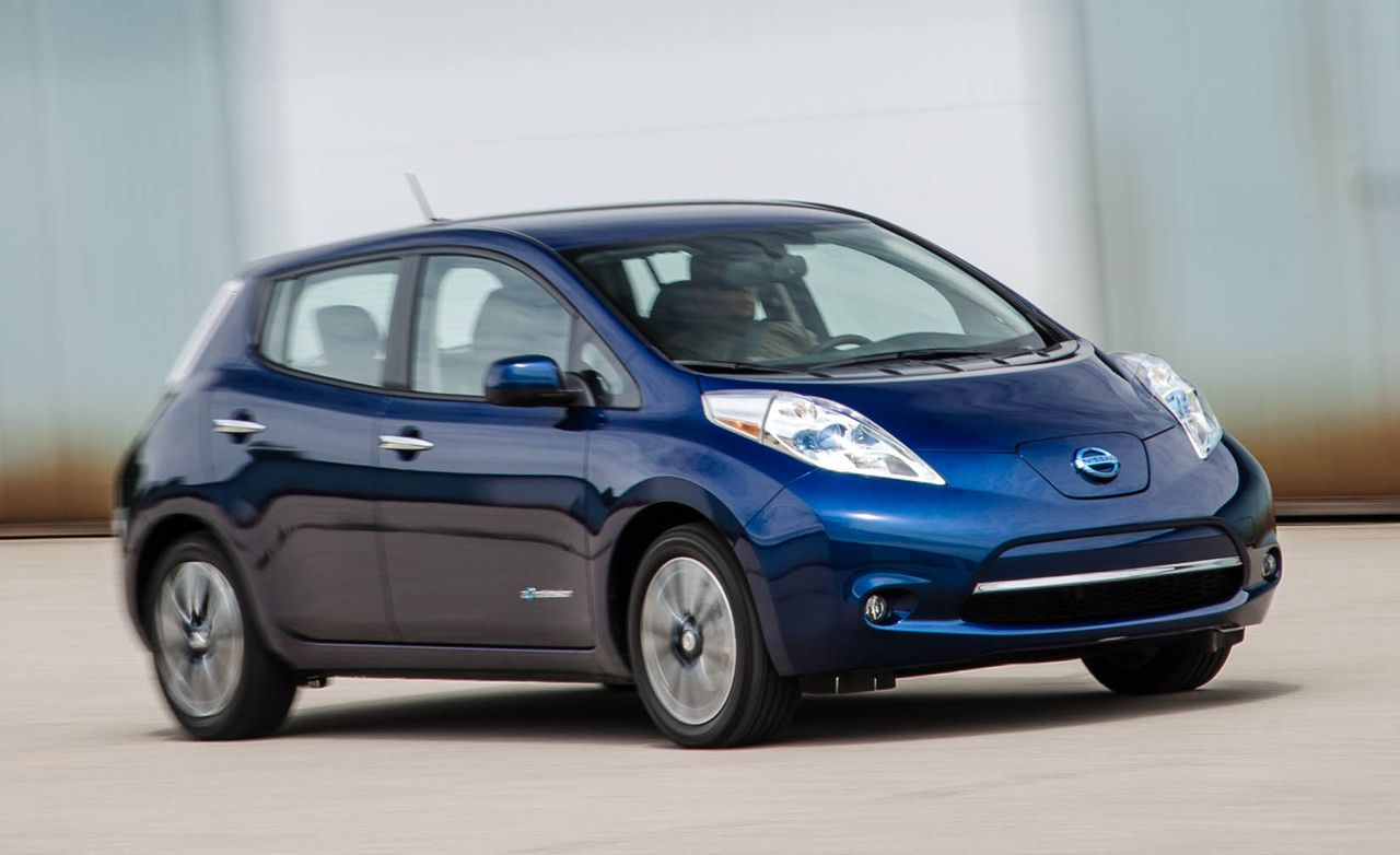 2016 nissan leaf 30kwh instrumented test review car. Black Bedroom Furniture Sets. Home Design Ideas