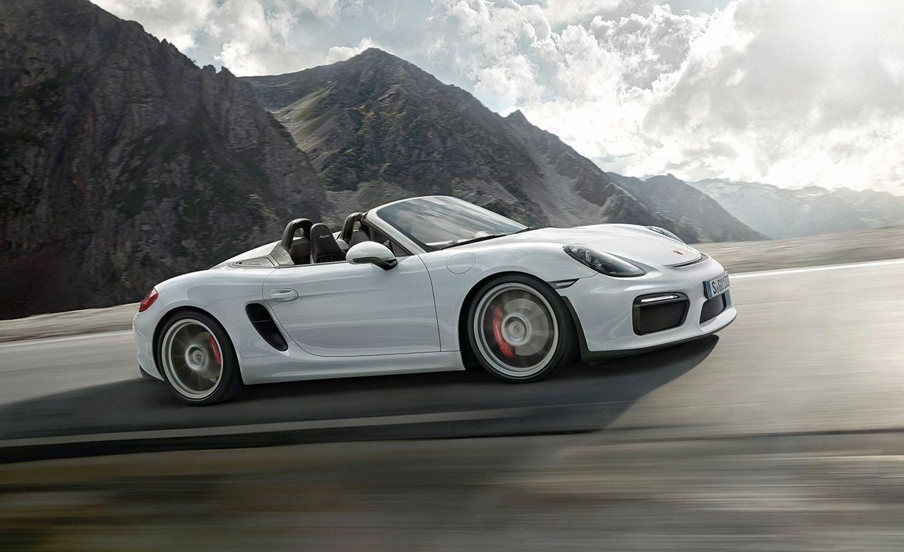 Porsche boxster spyder 2018