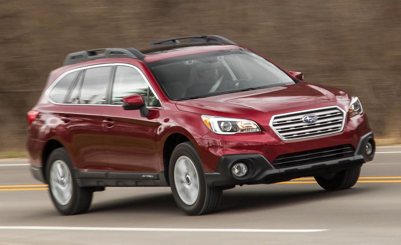 2016 subaru outback review car and driver. Black Bedroom Furniture Sets. Home Design Ideas