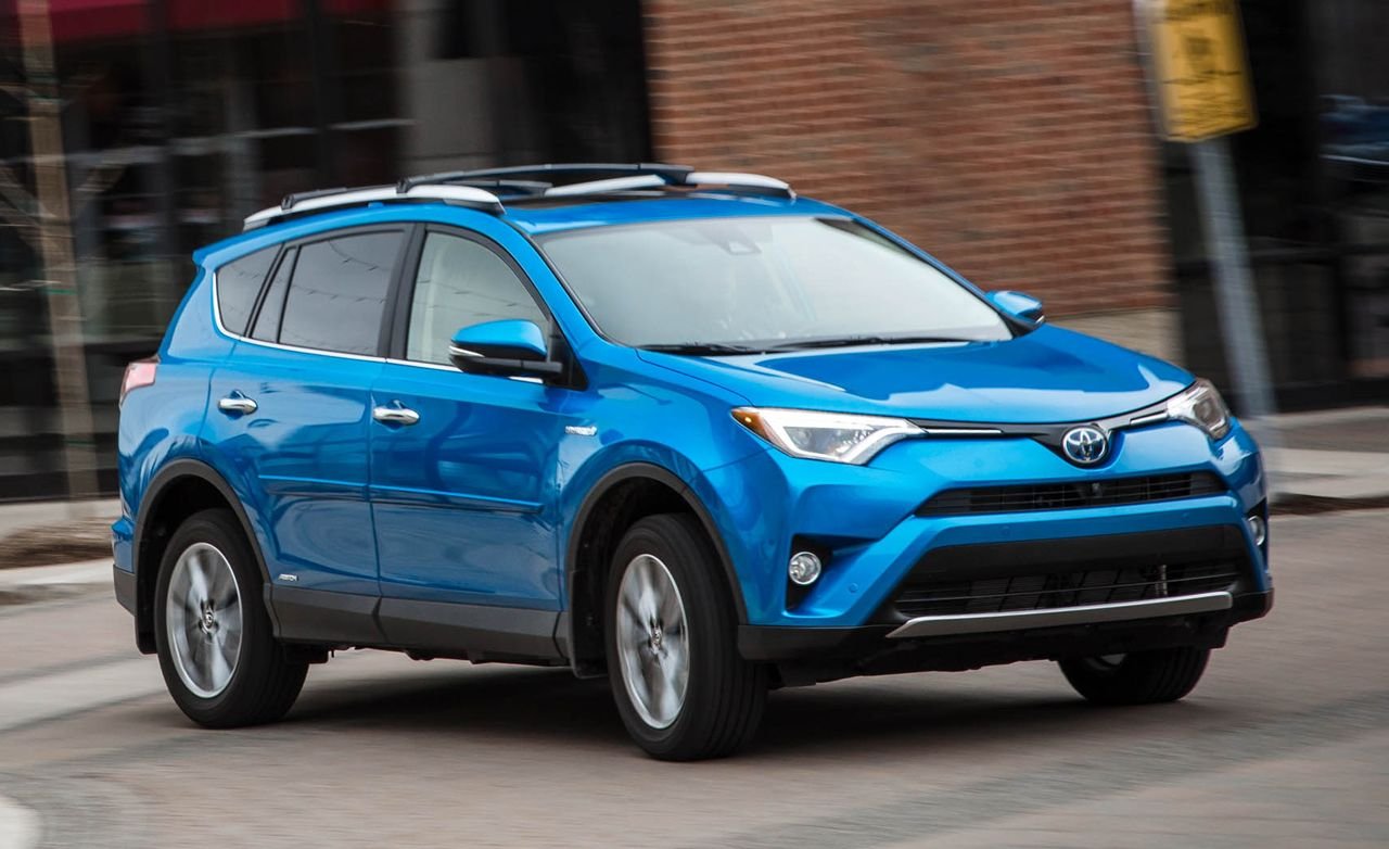 2016 toyota rav4 hybrid awd test review car and driver. Black Bedroom Furniture Sets. Home Design Ideas