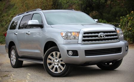 toyota sequoia reviews toyota sequoia price photos and specs car and driver. Black Bedroom Furniture Sets. Home Design Ideas