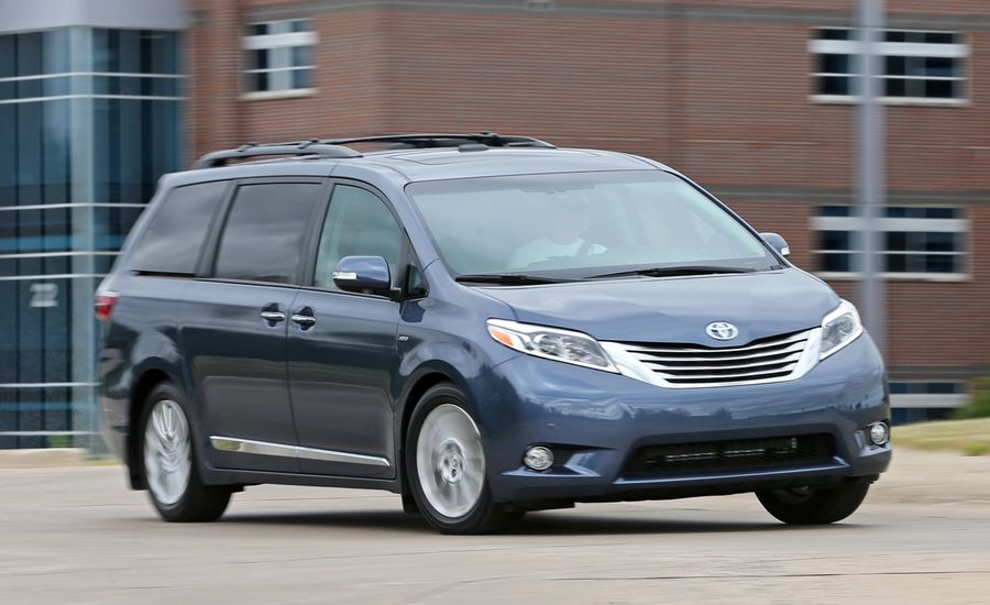 sienna s toyota test photo car driver review reviews awd and original